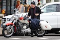 <p>Billy Joel was spotted going on a bike ride with friends in the Hamptons.</p>