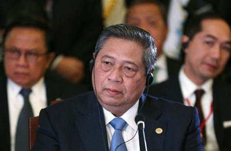 Indonesia's President Yudhoyono attends the first session of ASEAN-Japan Commemorative Summit Meeting in Tokyo