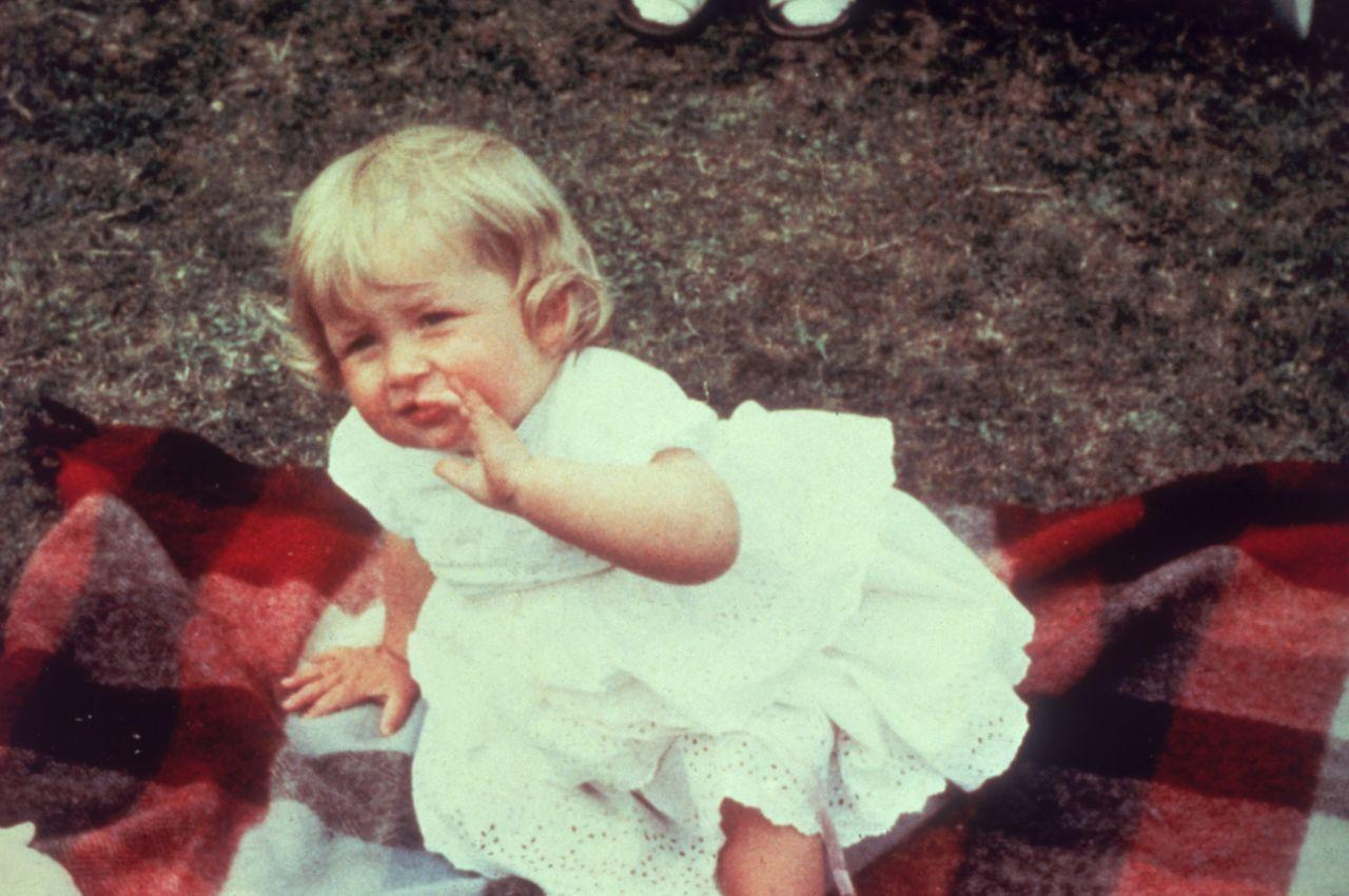 Young Diana Spencer was gorgeous with her blonde, curly locks. [Photo: Getty]