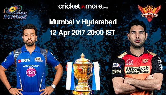 IPL-10: Mumbai Indians aim to deny Sunrisers Hyderabad hattrick of wins