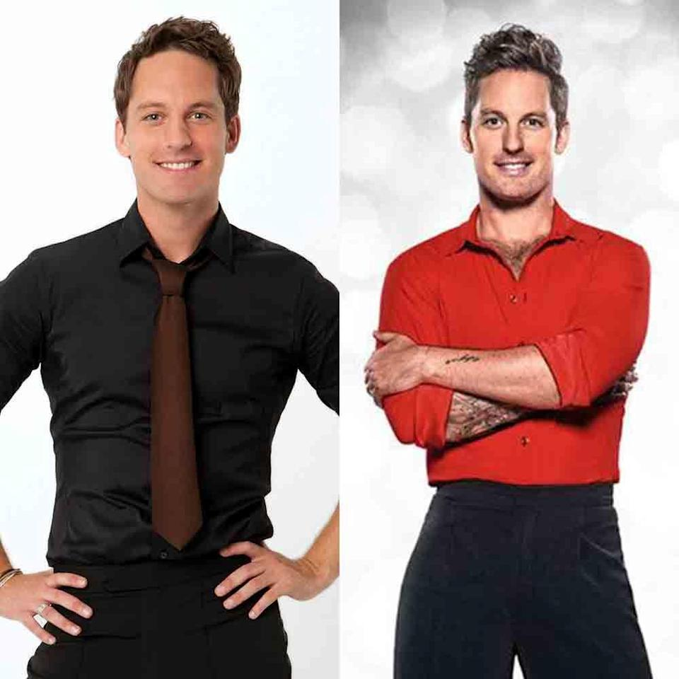 """<p>Tristan stepped onto the <em>DWTS</em> scene in 2011 for season 13 after being promoted from the troupe. He competed for five consecutive seasons. He <a href=""""https://www.irishtimes.com/life-and-style/people/strictly-come-dancing-how-tristan-macmanus-caught-the-dancing-bug-from-his-grandparents-1.2403341"""" rel=""""nofollow noopener"""" target=""""_blank"""" data-ylk=""""slk:left the show in 2013"""" class=""""link rapid-noclick-resp"""">left the show in 2013</a> to be a pro on <em>Strictly Come Dancing </em>and now serves as a judge on <em>DWTS Australia</em>.</p>"""