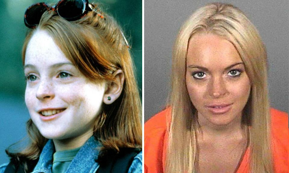 <p>Lindsay Lohan made her name in Disney's<em> The Parent Trap </em>and <em>Freaky Friday </em>before succumbing to the dark forces of Hollywood. The actress has been to rehab multiple times and has numerous arrests to her name for driving under the influence, cocaine possession and probation violation, the latter of which she served 14 days in jail for. Lohan moved to London after completing her community service but now lives in Dubai but stars in the Sky One series <em>Sick Note</em>. </p>