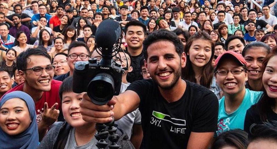 Nuseir Yassin, a.k.a Nas Daily is moving to Singapore. Yay, or nay?