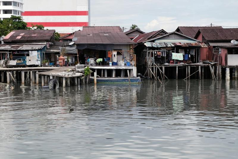 There is still no solution for the sewage issues plaguing George Town's famed heritage site, the Clan Jetty. ― Picture by KE Ooi