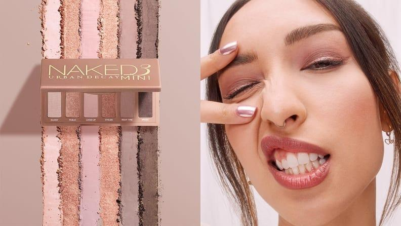 Urban Decay's six rose-tinted shadows are perfect for all-day wear.