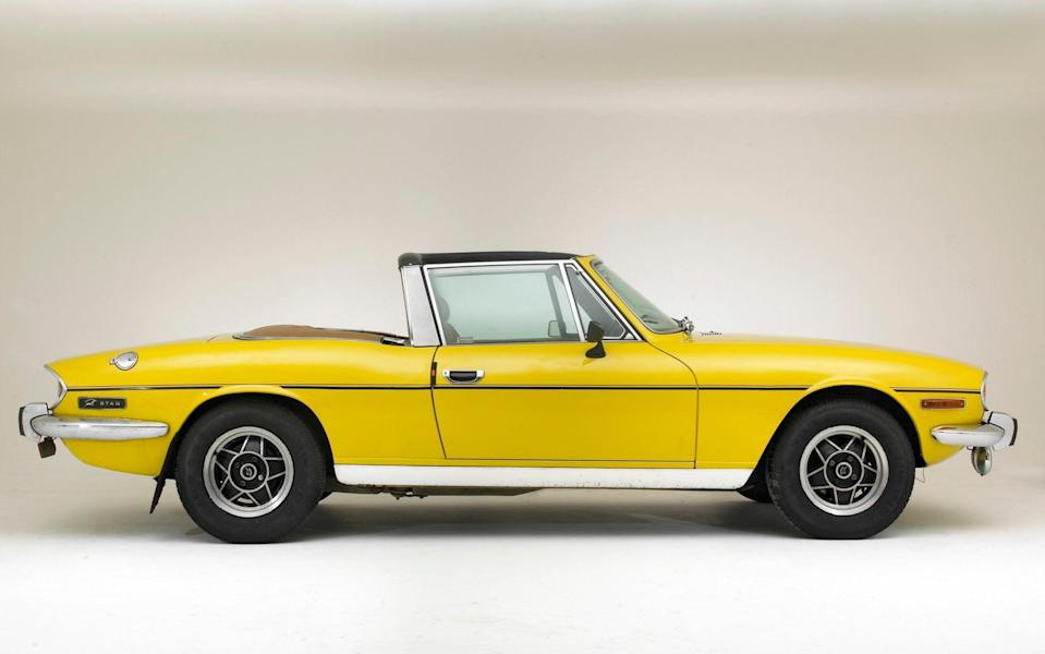 Triumph Stag - Getty Images