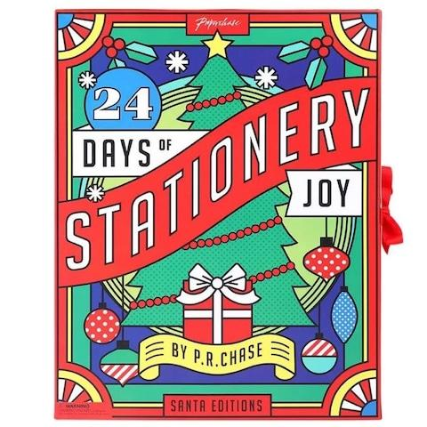 Paperchase Stationery Advent Calendar - Credit: Paperchase