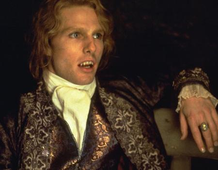 """<p>Tom Cruise played Lestat in Anne Rice's """"Interview with the Vampire"""" (1994). Blond flowing locks and frilly period-piece jackets do it for you? Consider when Brad Pitt and Kirsten Dunst's characters try to kill him by dumping him in a swamp after slicing him open. He turned into an unattractive, slightly green monster for a period of time. Not so attractive after all (unless of course that's what you're into).</p>"""