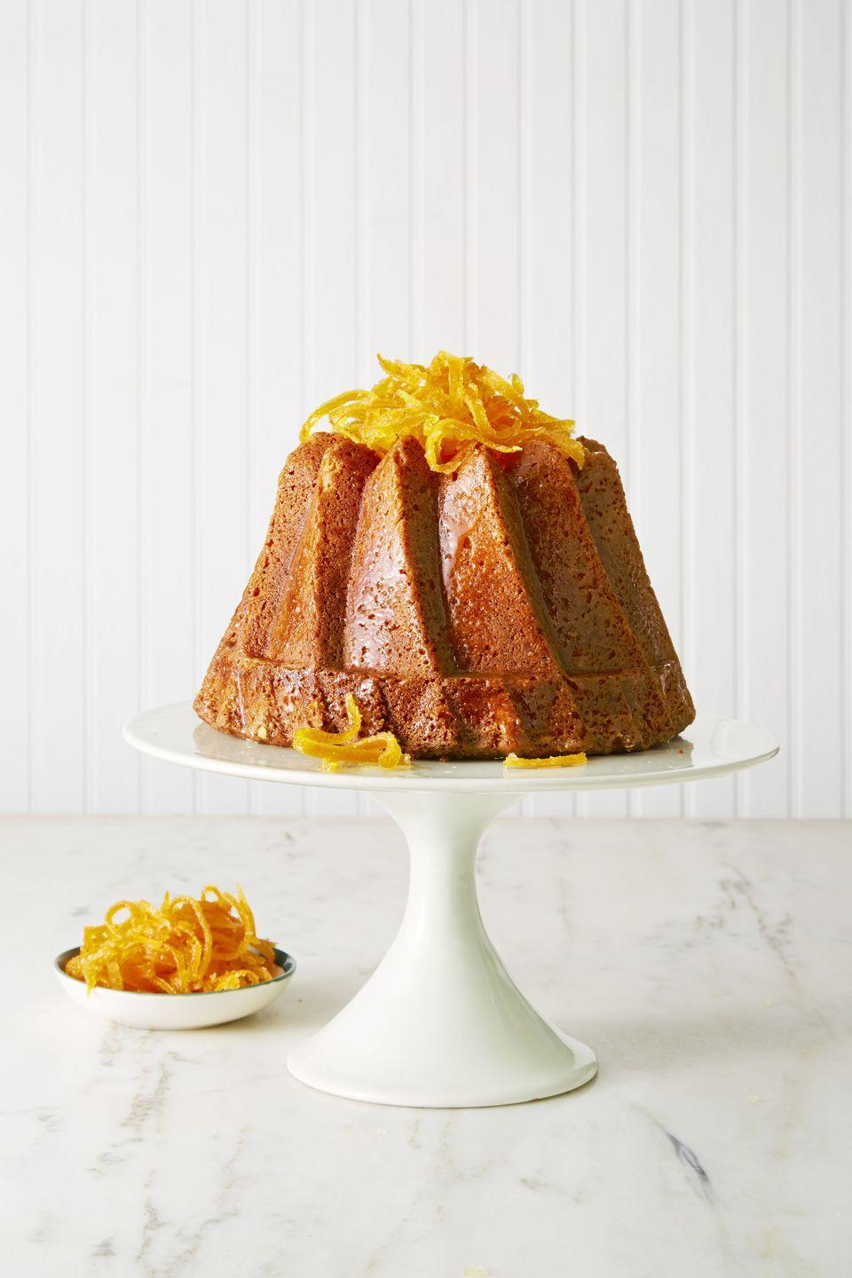 "<p>Lemon, orange, and lime zest bring plenty of punch to this bright dessert that'll instantly perk up a dreary fall day.</p><p><em><a href=""https://www.goodhousekeeping.com/food-recipes/dessert/a38286/triple-citrus-bundt-recipe/"" rel=""nofollow noopener"" target=""_blank"" data-ylk=""slk:Get the recipe for Triple Citrus Bundt »"" class=""link rapid-noclick-resp"">Get the recipe for Triple Citrus Bundt »</a></em></p><p><strong>RELATED: </strong><a href=""https://www.goodhousekeeping.com/food-recipes/g32256776/baking-recipes/"" rel=""nofollow noopener"" target=""_blank"" data-ylk=""slk:40 Easy Baking Recipes For All Your Sweet Treat Cravings"" class=""link rapid-noclick-resp"">40 Easy Baking Recipes For All Your Sweet Treat Cravings</a></p>"