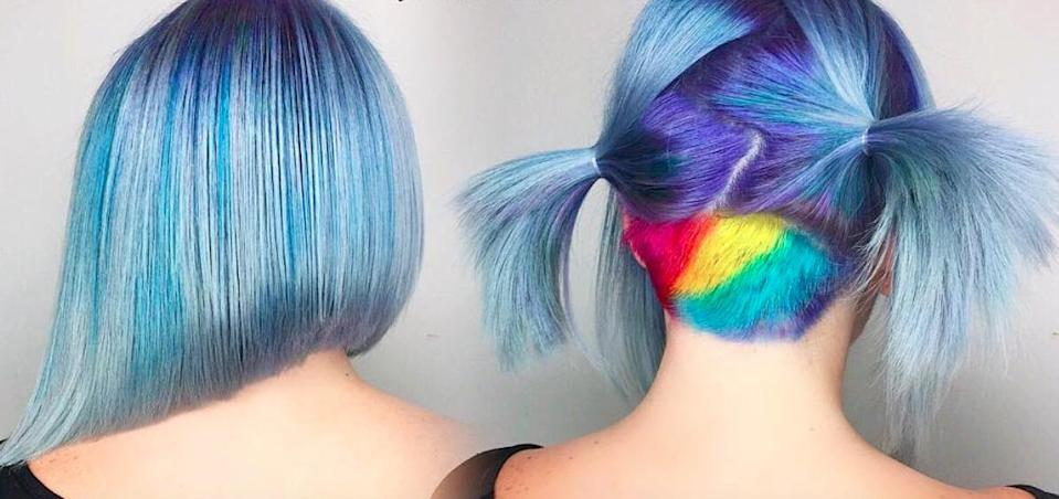 """""""Lollipop hair"""" is the hair trend to try if you want to go *seriously* bold in 2017"""