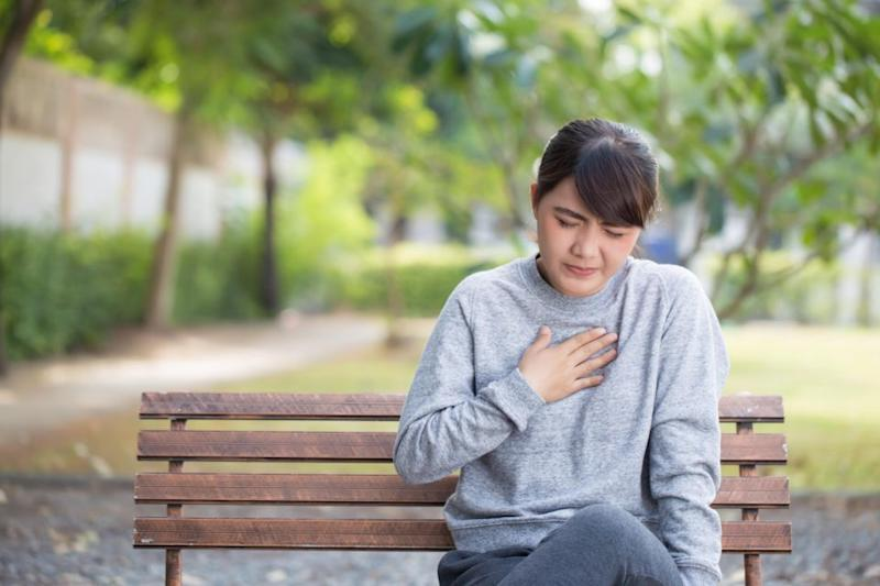 Symptoms like anxiety and heartburn may be heightened. Photo: Getty