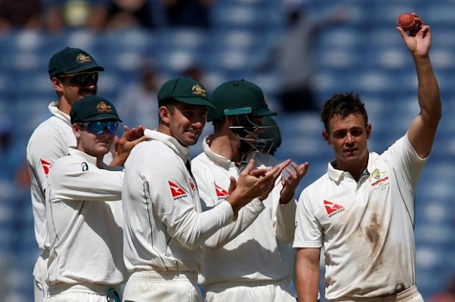Steve OKeefe, Australia, India, second Test, first Test, Shaun Marsh