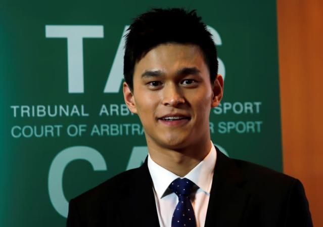 CAS public hearing of WADA appeal against Chinese swimmer Sun Yang and FINA in Montreux