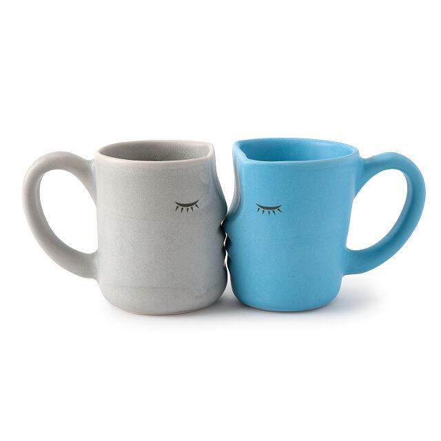 "25 Unexpected Ways To Say ""I Love You"" this Valentine's Day, Uncommon Goods Kissing Mugs"