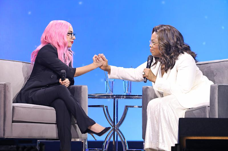 Lady Gaga Talks to Oprah About 'Psychotic Breaks,' Chronic Pain