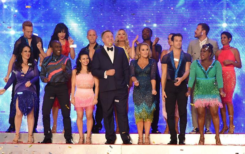 The average scores of Strictly Come Dancing 2016 contestants will increase as they go through the competition - Copyright (c) 2016 Rex Features. No use without permission.