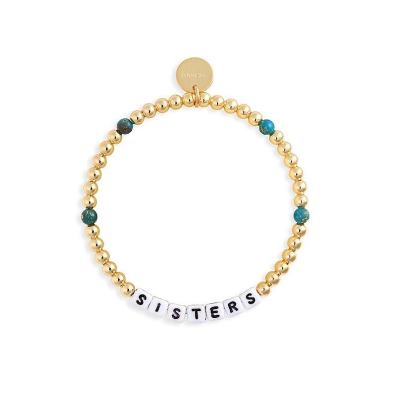 "The best part about this bracelet is that it's meant to be regifted, thanks to a numerical tag on that the initial recipient can register to track its whereabouts. $30, Nordstrom. <a href=""https://www.nordstrom.com/s/little-words-project-sisters-beaded-stretch-bracelet/5674547"" rel=""nofollow noopener"" target=""_blank"" data-ylk=""slk:Get it now!"" class=""link rapid-noclick-resp"">Get it now!</a>"