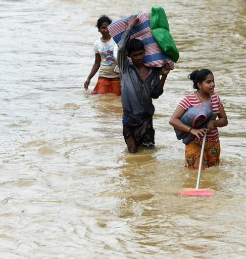 Floods, landslides kill at least 92 in Sri Lanka