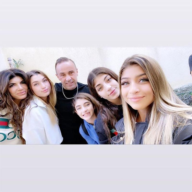 Teresa and Joe Giudice with their four daughters | Gia Giudice/Instagram