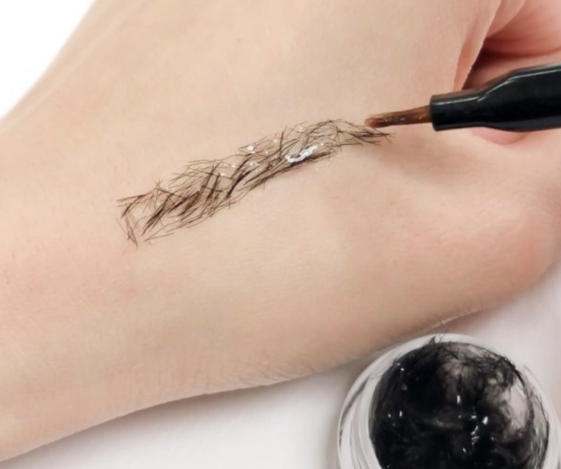Okay, so, eyebrow extensions are now a thing