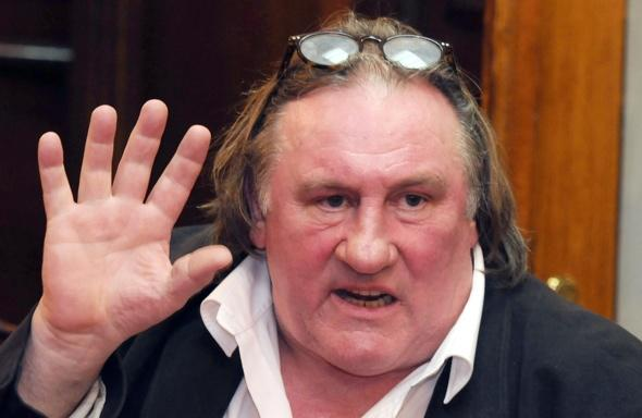 Gerard Depardieu claims he shot and ate two lions