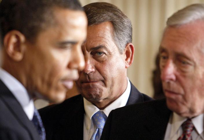 In his new book, former House Speaker John Boehner recounts troubled attempts to cut deals with President Obama.
