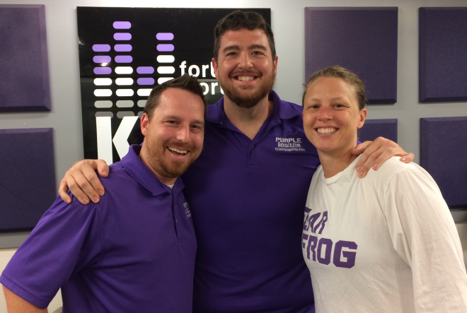 Really fun show this week. We had @YellMK & TCU Director of Volleyball Jill Kramer join us...