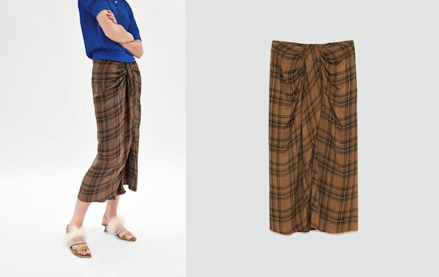 Zara's $90 version of the $4 lungi. (Photo: Zara)