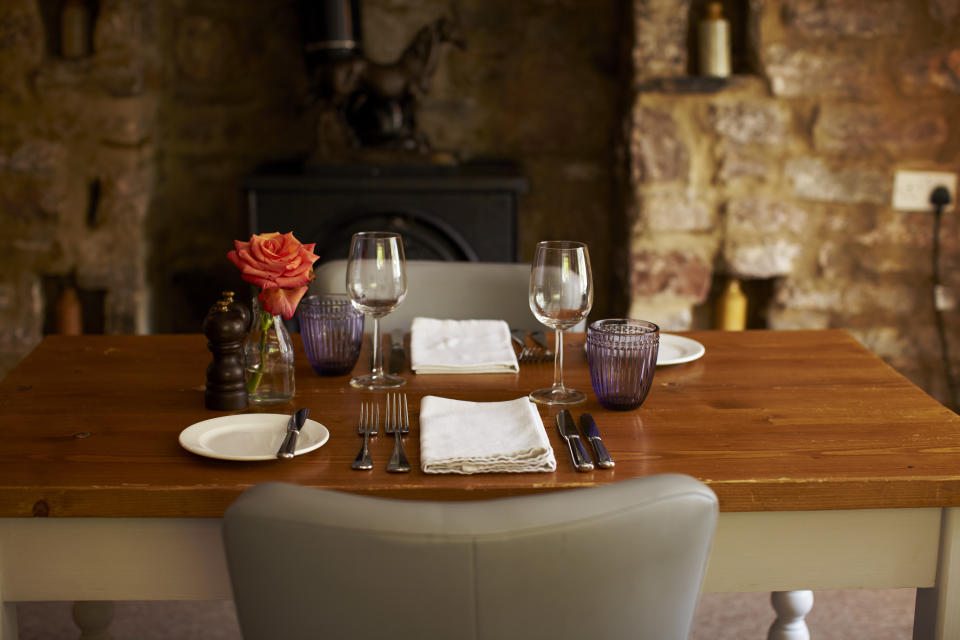 The dining room at Tudor Farmhouse [Photo: Tudor Farmhouse]