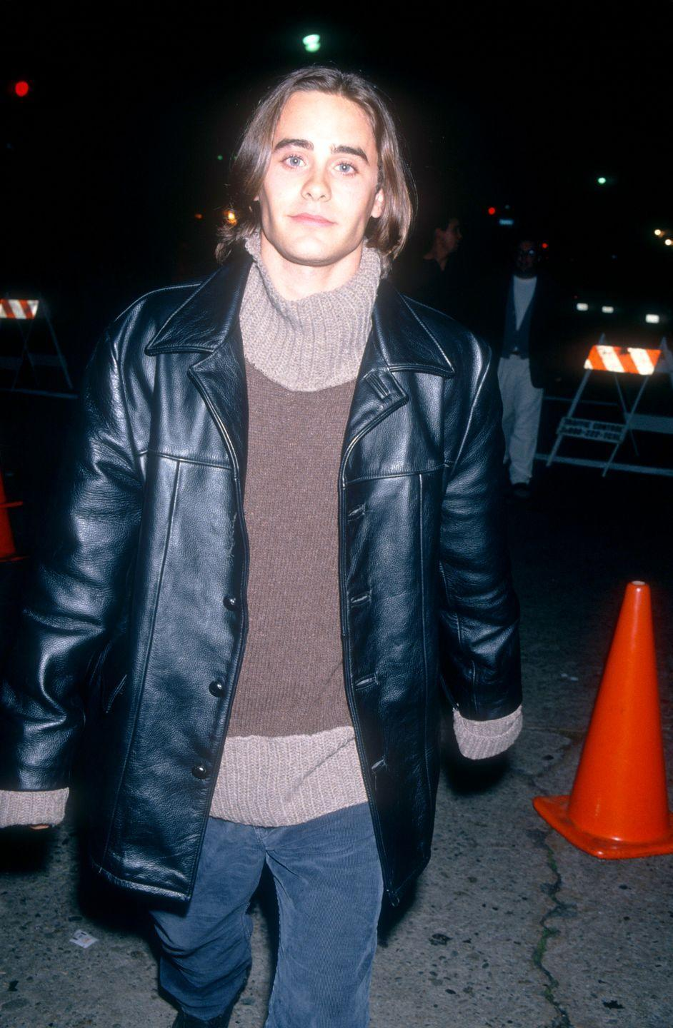 <p>Back in the day, Jared fulfilled many bad boy fantasies thanks to his role as Jordan Catalano on <em>My So-Called Life</em>. Hm, was it the leather jacket or his chiseled jawline? I'm calling it a tie. </p>
