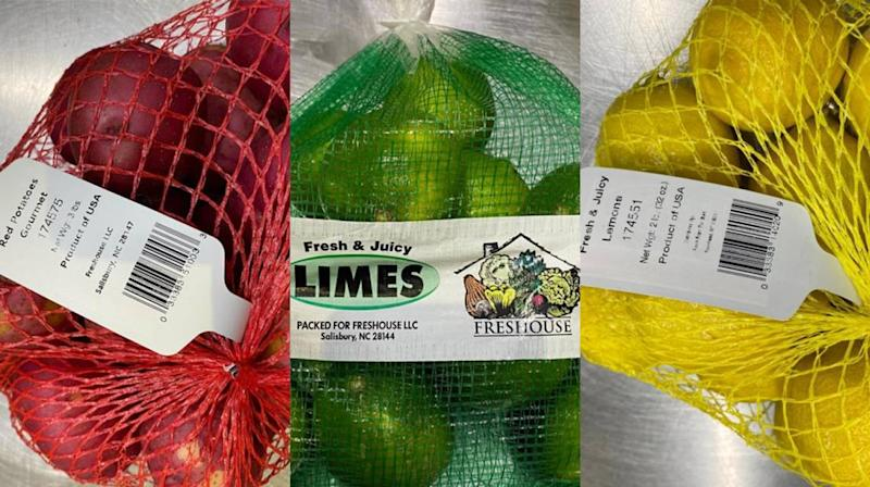 Fruit, potatoes recalled in several states after possible contamination at NC warehouse