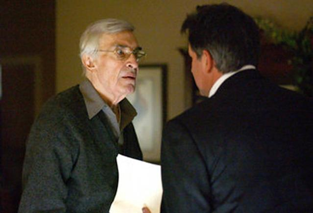 <p>Decades after <em>Mission: Impossible, </em>Landau received his fourth and fifth Emmy nominations for a recurring role as Frank Malone, FBI agent Jack Malone (Anthony LaPaglia)'s father who is battling Alzheimer's disease, in this CBS police procedural. (Photo: CBS) </p>