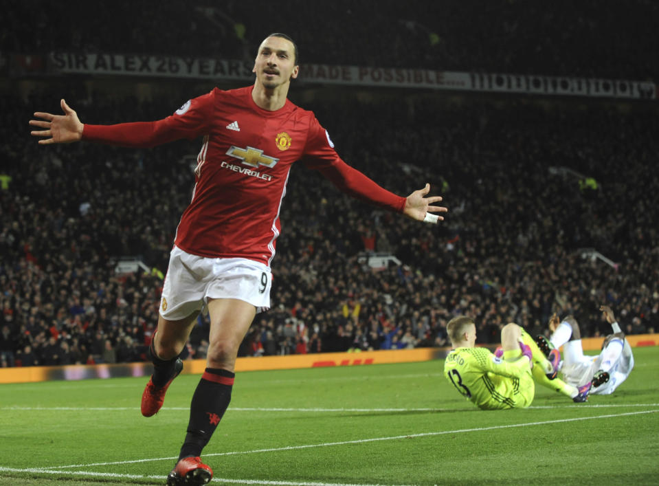 Z<span>latan Ibrahimovic has signed with the LA Galaxy, but moving clubs and continents can't stop him from being Zlatan</span>. (AP Photo)