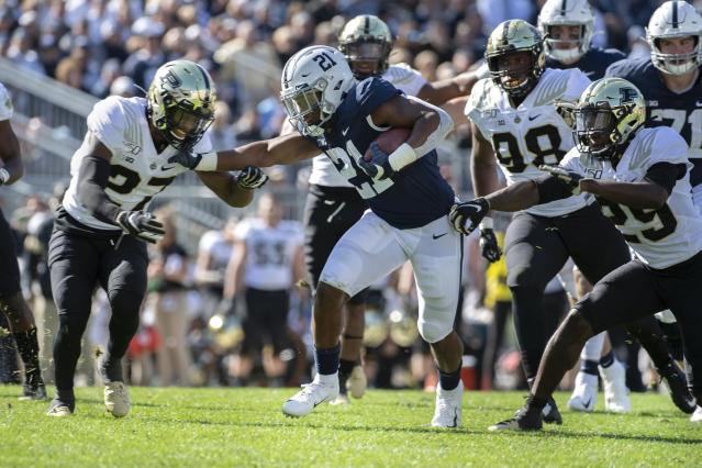 Can Penn State push itself into the College Football Playoff mix? (AP Photo/Barry Reeger)