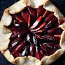 """Marzipan—a sweetened almond paste—makes a lush, nutty bed that melts as it bakes with the plum juices. <a href=""""https://www.epicurious.com/recipes/food/views/plum-marzipan-galette-51208040?mbid=synd_yahoo_rss"""" rel=""""nofollow noopener"""" target=""""_blank"""" data-ylk=""""slk:See recipe."""" class=""""link rapid-noclick-resp"""">See recipe.</a>"""