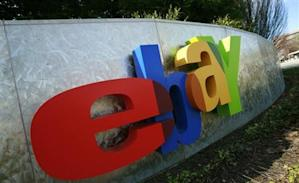 eBay sign: Credit Reuters
