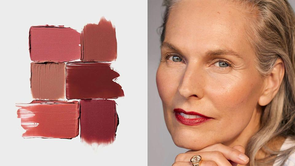 Add a berry-toned blush from Rose Inc. into your makeup routine to evoke fall.