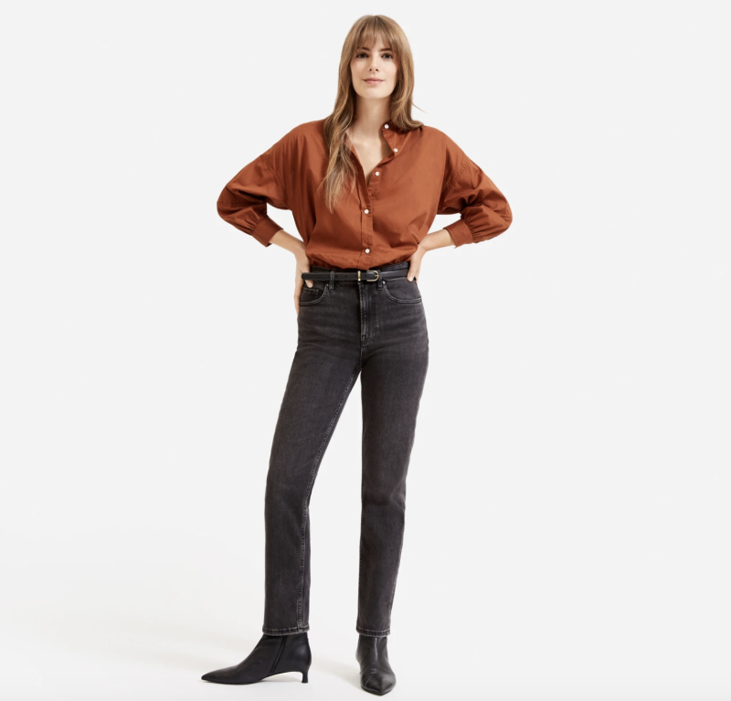 Roll them up and cuff them, or leave as is — either way, you'll look cool. (Photo: Everlane)