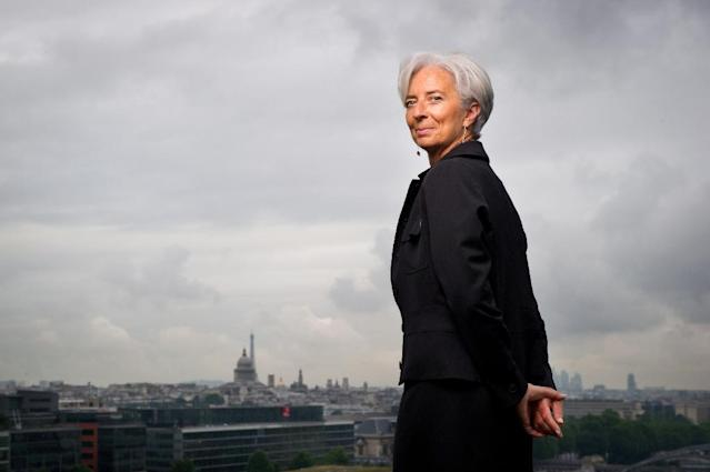 International Monetary Fund chief Christine Lagarde is to stand trial over a massive state payout to a flamboyant tycoon when she was French finance minister (AFP Photo/MARTIN BUREAU)