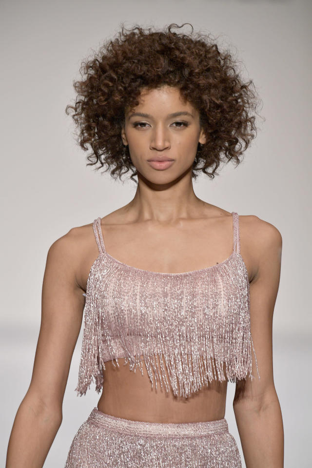 <p>A golden brown twist-out pattern that's marvelous. (Photo: Getty Images) </p>