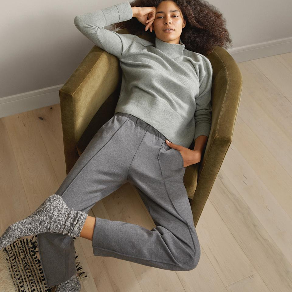 Everlane Dream Pant in Heathered Charcoal