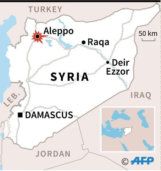Syria forces, rebels in battle for Aleppo (AFP Photo/)