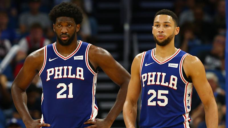 Joel Embiid and Ben Simmons earn spots in top 15 for most popular NBA jerseys