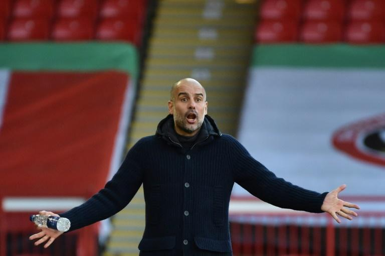 Not going home: Pep Guardiola has ruled out a return to Barcelona