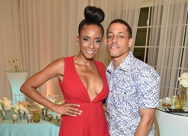 "Miko Grimes, the wife of Buccaneers corner Brent Grimes, should be the star of ""Hard Knocks."" (Getty Images)"