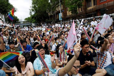 Taiwan court rules same-sex marriage ban is unconstitutional