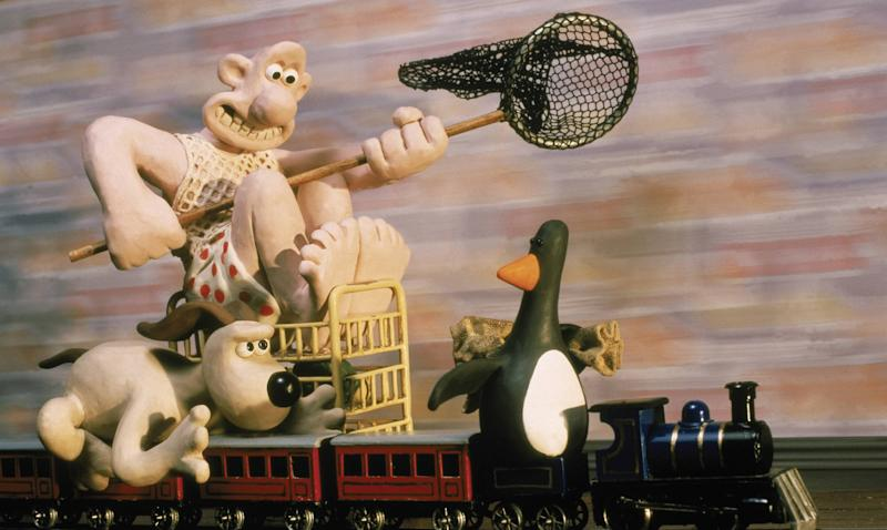 <i>The Wrong Trousers</i> won the 1993 Academy Award for Best Animated Short Film. (BBC/Aardman)