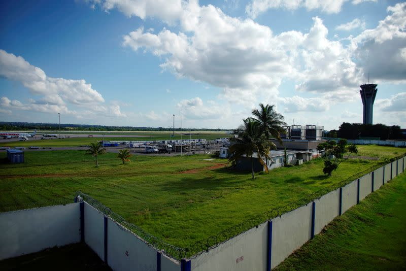 FILE PHOTO: A view of the Jose Marti International Airport in Havana