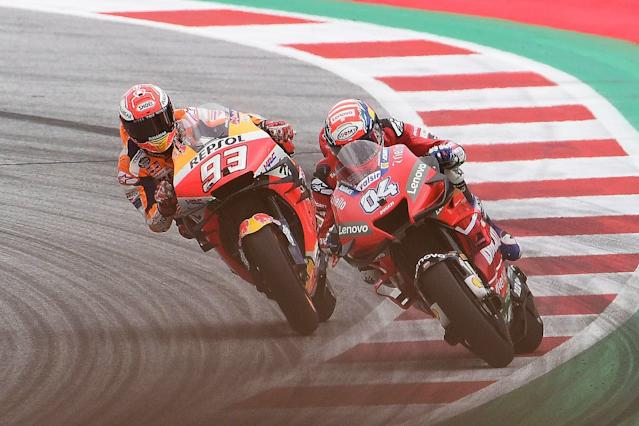 Marquez expected crash in Austria final corner