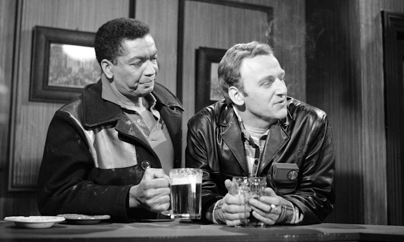 Earl Cameron and John Thaw in I Can Walk Where I Like, Can't I?' a 1963 episode from the ITV Play of the Week series.